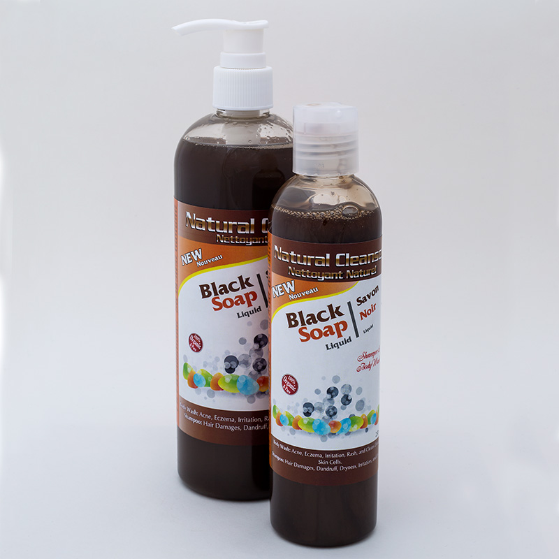 Black Soap Shampoo / Bodywash | Organic Herbal Hair Shampoo / Bodywash