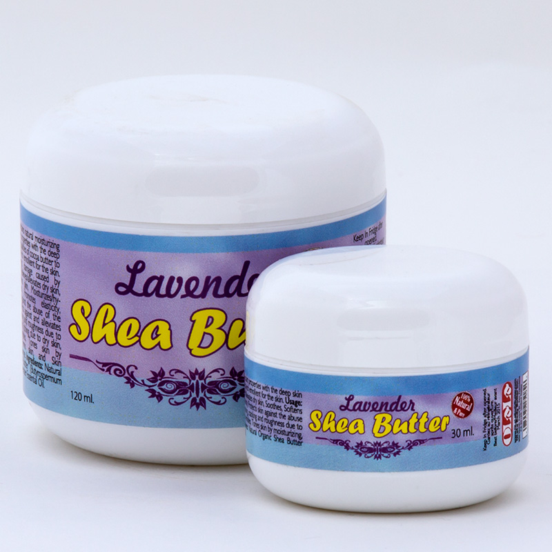 Shea Lavender Body Butter | Organic Herbal Moisturizer