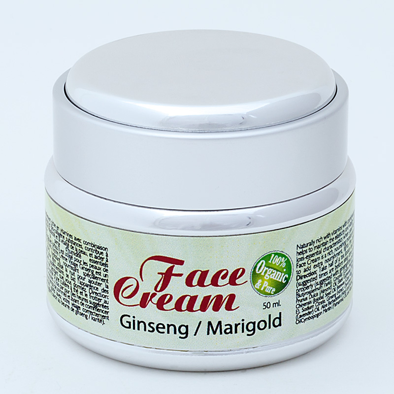 Ginseng Marigold Face Cream | Purity Natural