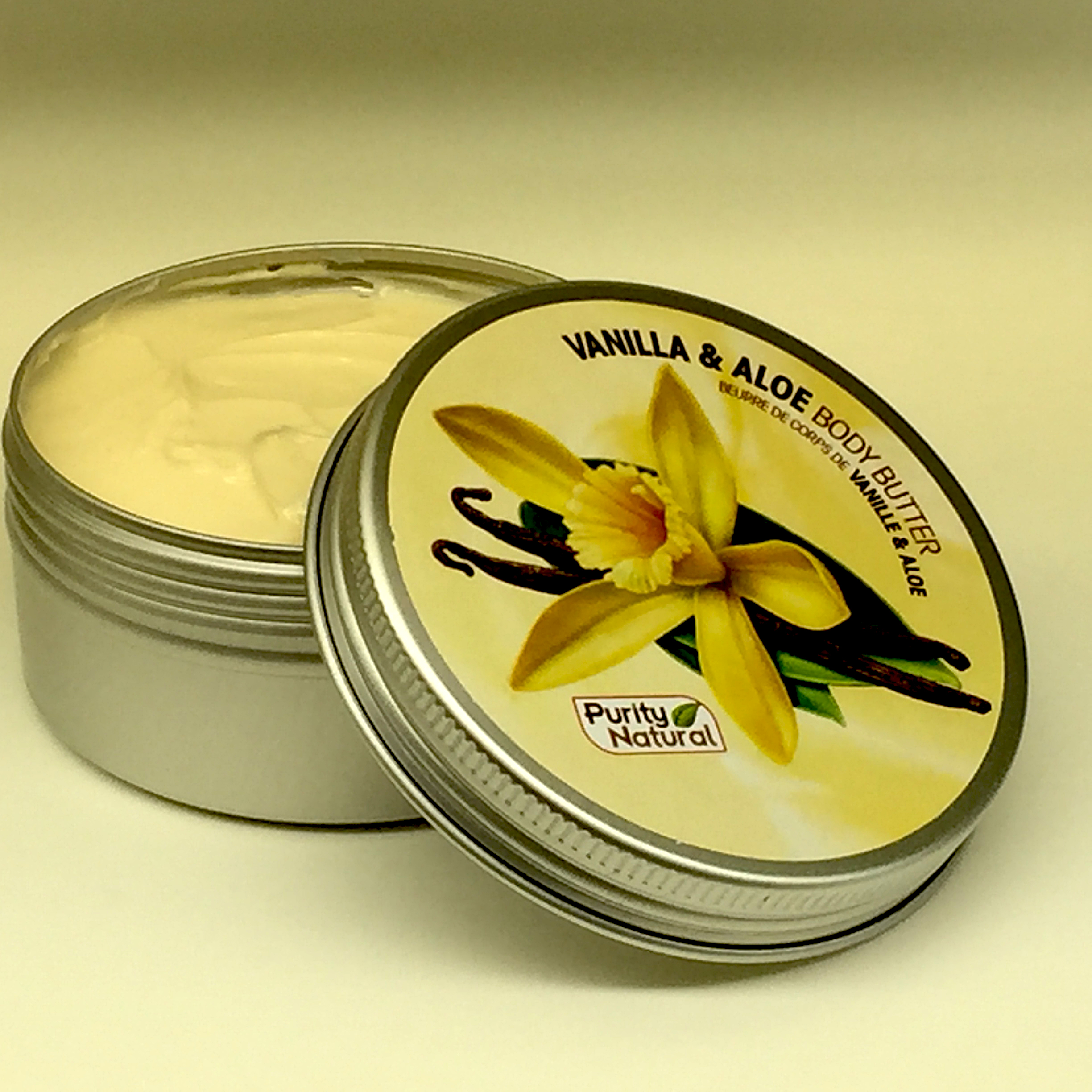 Vanilla Aloe Organic Herbal  Body Butter Moisturizer | Purity Natural